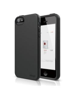 Elago S5 Flex Case за iPhone 5 -  черен
