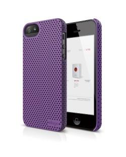 Калъф Elago S5 Breathe за iPhone 5, Iphone 5s -  лилав