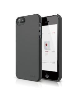 Elago S5 Slim Fit 2 Case за iPhone 5 -  тъмносив