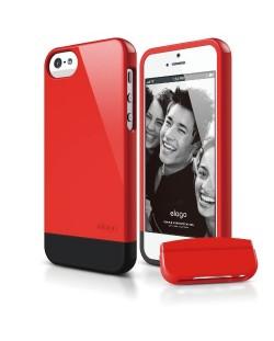 Калъф Elago S5 Glide за iPhone 5, Iphone 5s - червен-гланц