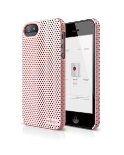 Калъф Elago S5 Breathe розов за iPhone 5