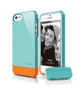 Калъф Elago S5 Glide за iPhone 5, Iphone 5s - светлосин