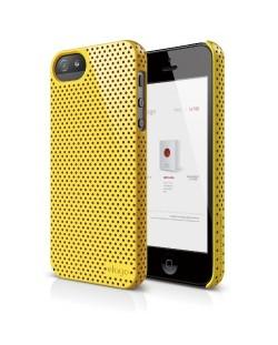 Калъф Elago S5 Breathe за iPhone 5, Iphone 5s -  жълт
