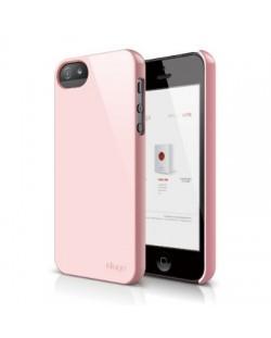 Elago S5 Slim Fit 2 Case за iPhone 5 -  светлорозов