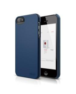 Elago S5 Slim Fit 2 Case за iPhone 5 -  тъмносин