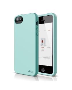 Калъф Elago S5 Flex за iPhone 5, Iphone 5s -  светлозелен