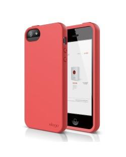 Калъф Elago S5 Flex за iPhone 5, Iphone 5s -  червен