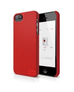 Калъф Elago S5 Breathe за iPhone 5, Iphone 5s -  червен