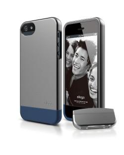 Калъф Elago S5 Glide за iPhone 5, Iphone 5s - тъмносив-