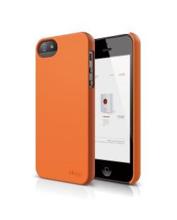 Elago S5 Slim Fit 2 Case за iPhone 5 -  оранжев
