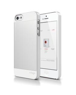 Elago S5 Outfit Aluminum за iPhone 5 -  бял