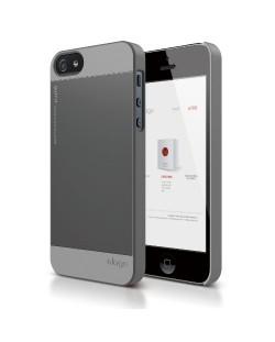 Elago S5 Outfit Aluminum за iPhone 5 -  сив