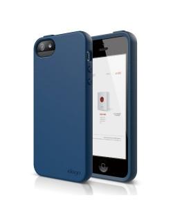 Elago S5 Flex Case за iPhone 5 -  тъмносин