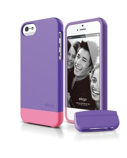 Калъф Elago S5 Glide за iPhone 5, Iphone 5s -  лилав-мат