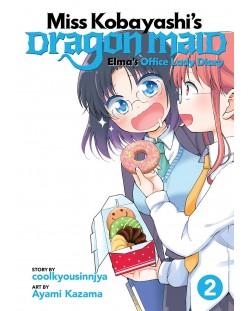Miss Kobayashi's Dragon Maid, Elma's Office Lady Diary: Vol. 2
