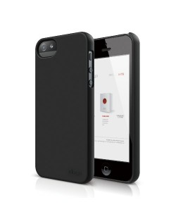 Elago S5 Slim Fit 2 Case за iPhone 5 -  черен