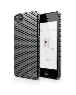 Калъф Elago S5 Breathe за iPhone 5, Iphone 5s -  сив