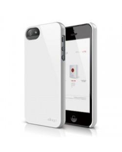 Elago S5 Slim Fit 2 Case за iPhone 5 -  бял