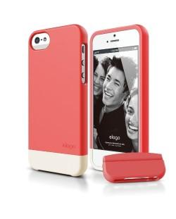 Калъф Elago S5 Glide за iPhone 5, Iphone 5s - светлочервен
