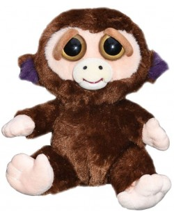 Плашеща плюшена играчка WMC Toys Feisty Pets - Маймуна