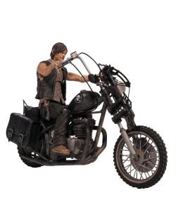 Фигура The Walking Dead - Daryl Dixon with Chopper