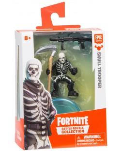 Фигурка Moose Fortnite Battle Royale - Skull Trooper, с 2 оръжия