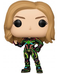 Фигура Funko POP! Marvel Captain Marvel - Neon Suit #516