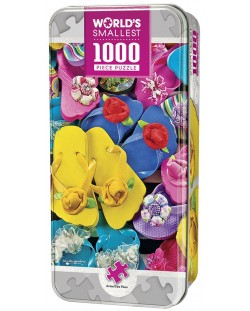 Пъзел Master Pieces от 1000 мини части - Джапанки, Карол Гордън