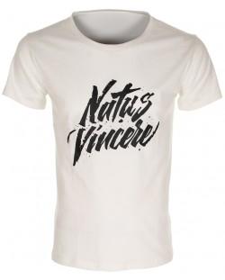 Тениска NaVi Calligraphy 2017, бяла
