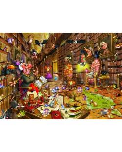 Пъзел Grafika от 1500 части - Вещицата, Франсоа Руйър