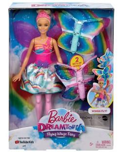 Кукла Mattel Barbie Dreamtopia - Фея, с летящи криле