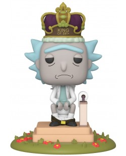 Фигура Funko Pop! Animation: Rick & Morty - King of $#!+ with Sound, #694
