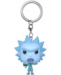 Ключодържател Funko Pocket Pop! Rick & Morty - Hologram Rick Clone