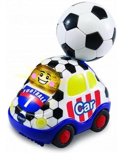 Детска играчка Vtech - Футболна кола, със светлина и звук