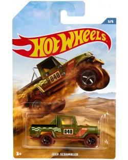 Количка Mattel Hot Wheels - Jeep Scrambler
