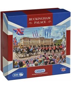 Пъзел Gibsons от 500 части - Бъкингамският дворец, Стив Крисп
