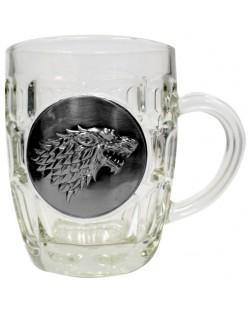 Халба Game of Thrones - Stark Metallic Logo