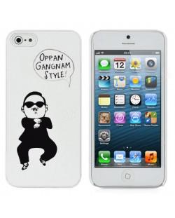 Gangnam Style за iPhone 5 -  бял
