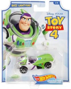 Количка Hot Wheels Toy Story 4 - Buzz Lightyear