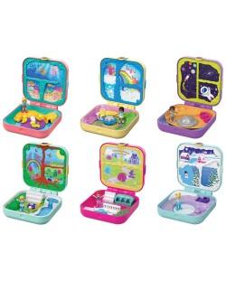 Игрален комплект Mattel Polly Pocket - Скрито съкровище, асортимент