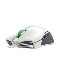Гейминг мишка Razer Basilisk - Mercury Edition, бяла