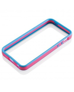 GEAR4 Case New Band за iPhone 5 -  синьо-розов