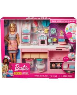 Игрален комплект Mattel Barbie - Приготвяне на сладкиши