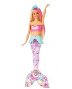 Кукла Mattel Barbie - Русалка със светеща опашка