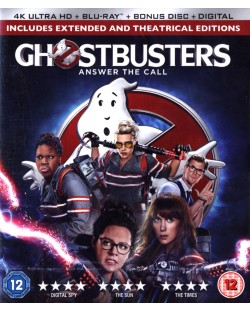 Ghostbusters (4K UHD + Blu-Ray)