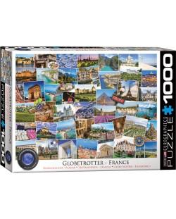 Пъзел Eurographics от 1000 части - Гледки от Франция