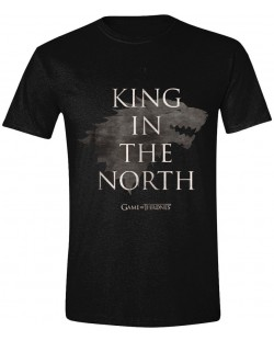 Тениска Timecity Game of Thrones - King In The North