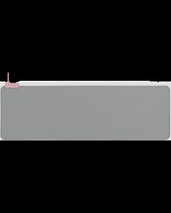 Подложка за мишка Razer Goliathus Extended Chroma - Quartz, сива