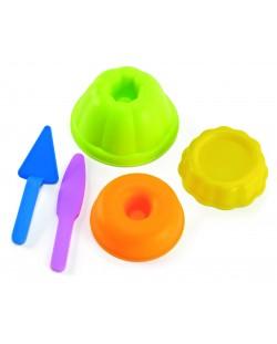 Пясъчна играчка Hape - Форми за печене, комплект