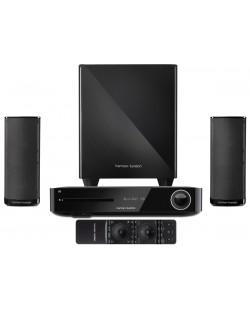 Аудио система harman/kardon BDS 380 - 2.1, черна + 3D Blu-ray плейър